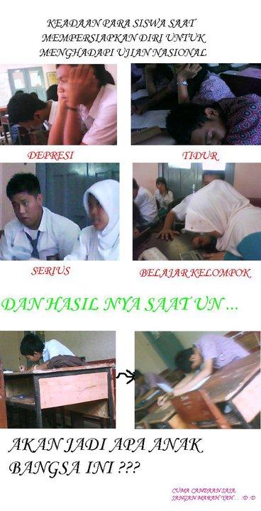 Saat dan Sebelum Ujian Nasional (SMA)